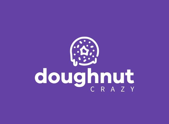 doughnut logo design