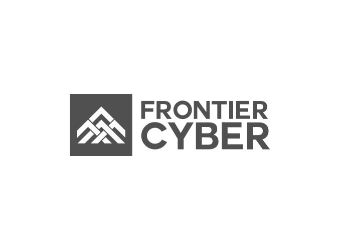 Frontier Cyber logo design