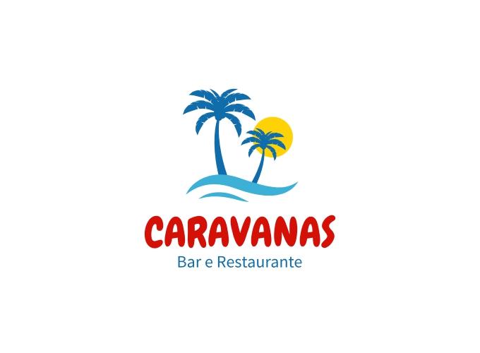 CARAVANAS logo design