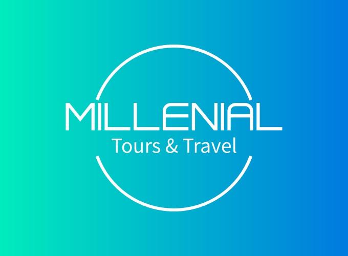 millenial logo design