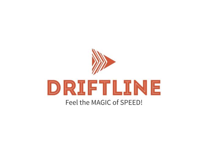 Driftline logo design