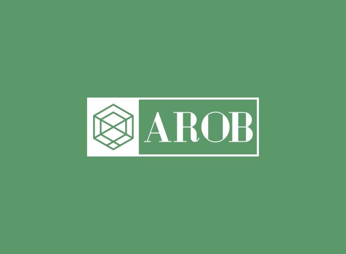 AROB logo design