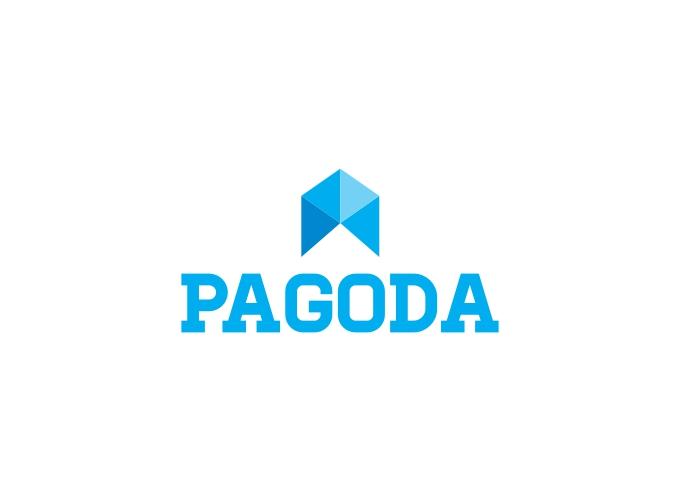 pagoda logo design