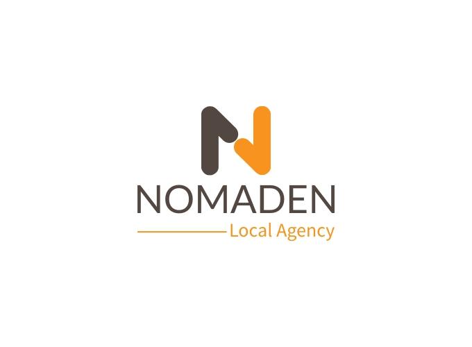 NOMADEN logo design