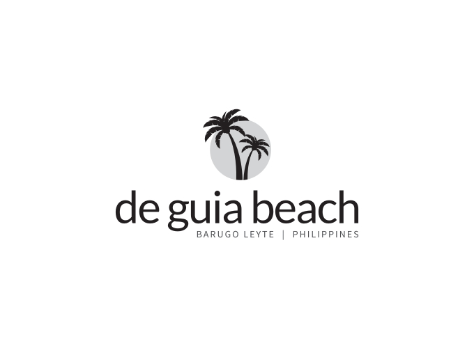 de guia beach logo design