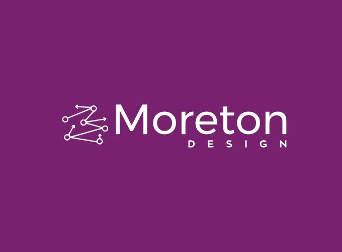 Moreton logo design