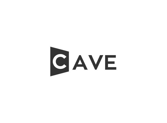 CAVE logo design