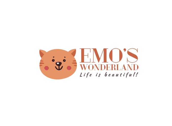 Emo's Wonderland logo design
