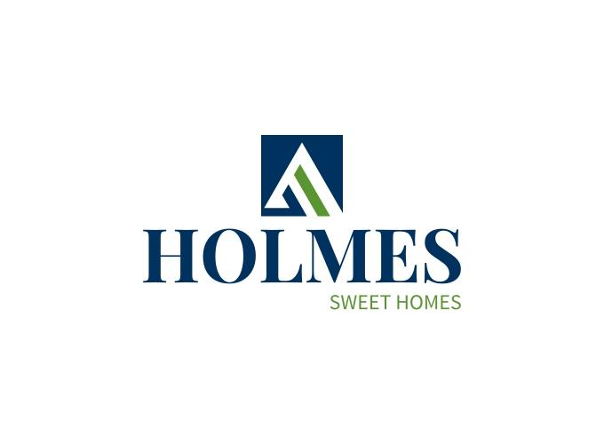 HOLMES logo design