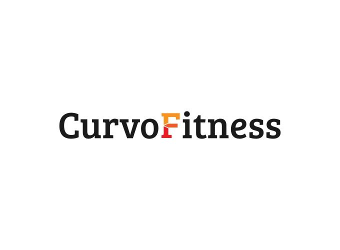 Curvo Fitness logo design
