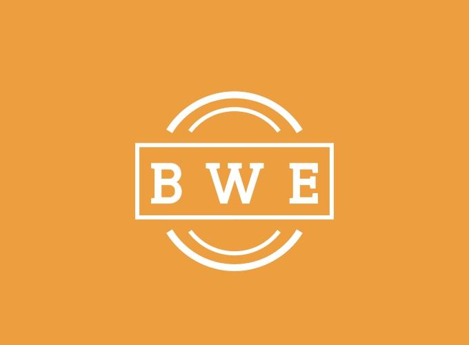 BWE logo design