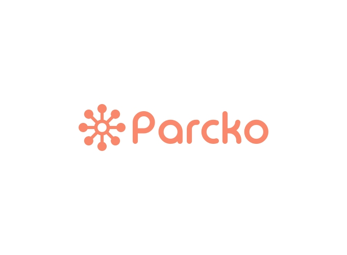 Parcko logo design