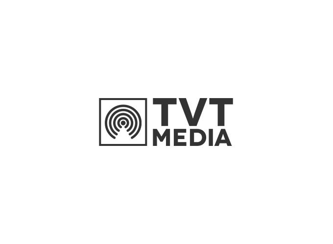 TVT Media logo design