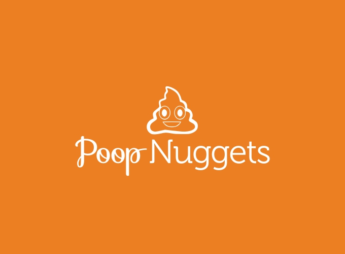 Poop Nuggets logo design