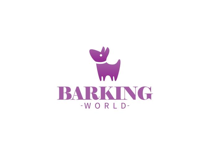 BARKING logo design