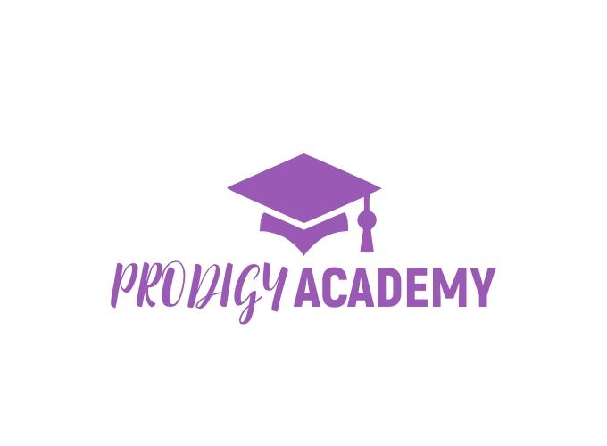 PRODIGY ACADEMY logo design