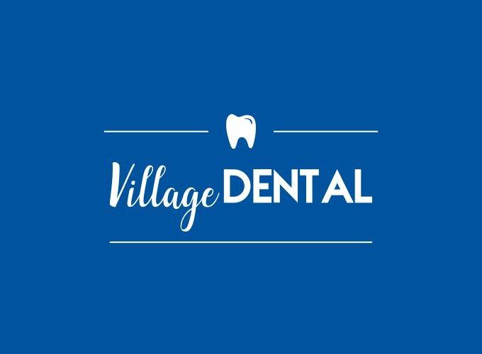 Village Dental logo design