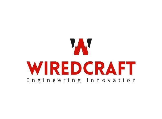 WiredCraft logo design