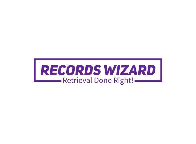 Records Wizard logo design
