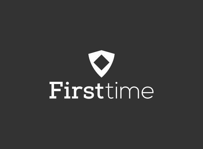 First time logo design
