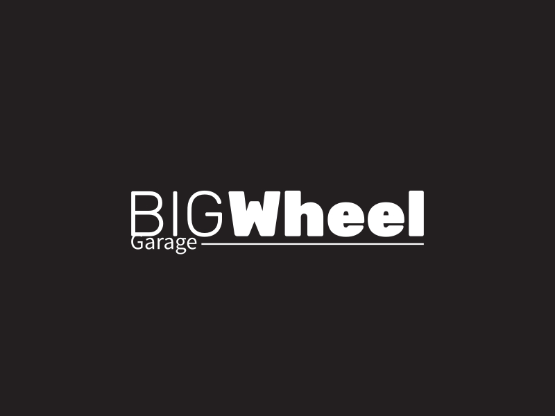 BIG Wheel - Garage
