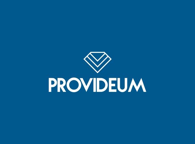 Provideum logo design