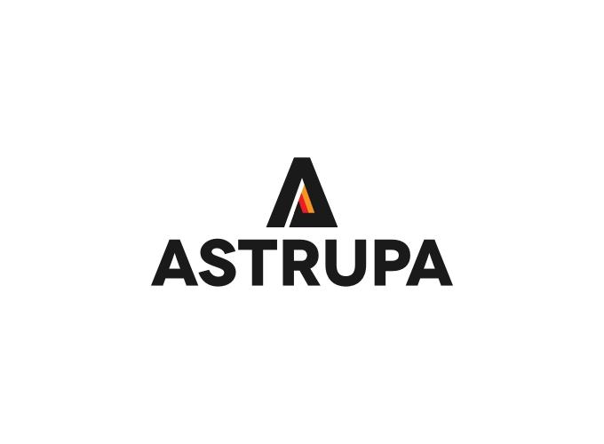 ASTRUPA logo design
