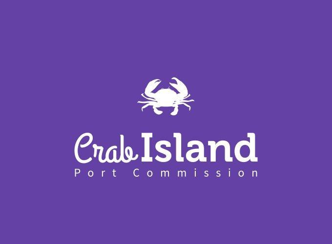 Crab Island logo design