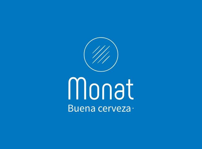 Monat logo design