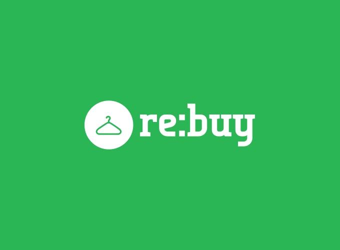 re:buy logo design