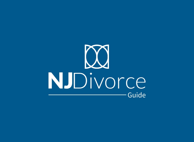 NJ Divorce logo design
