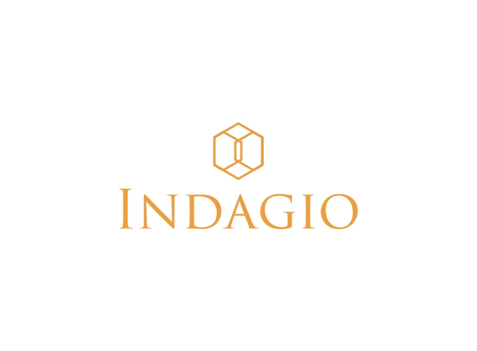 Indagio logo design