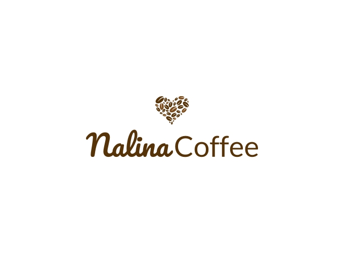 Nalina Coffee logo design