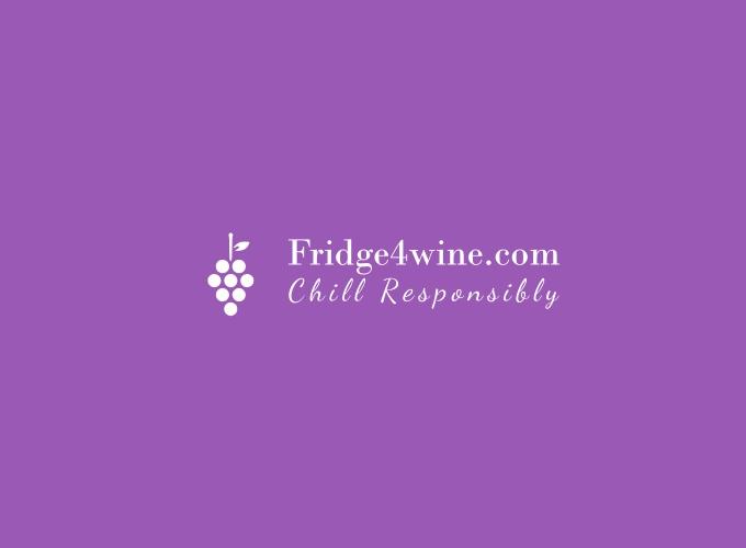 Fridge4wine.com logo design