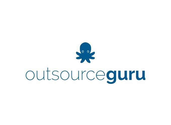 outsource guru logo design