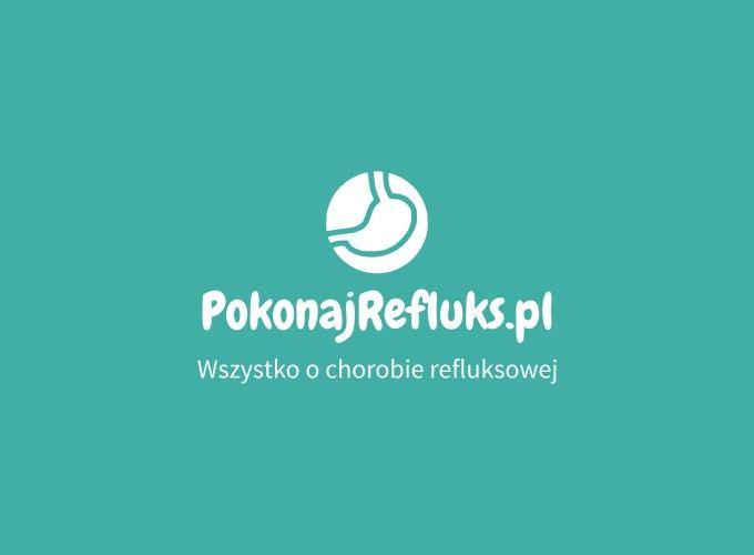 PokonajRefluks.pl logo design