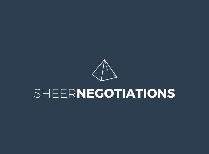 SHEER NEGOTIATIONS logo design