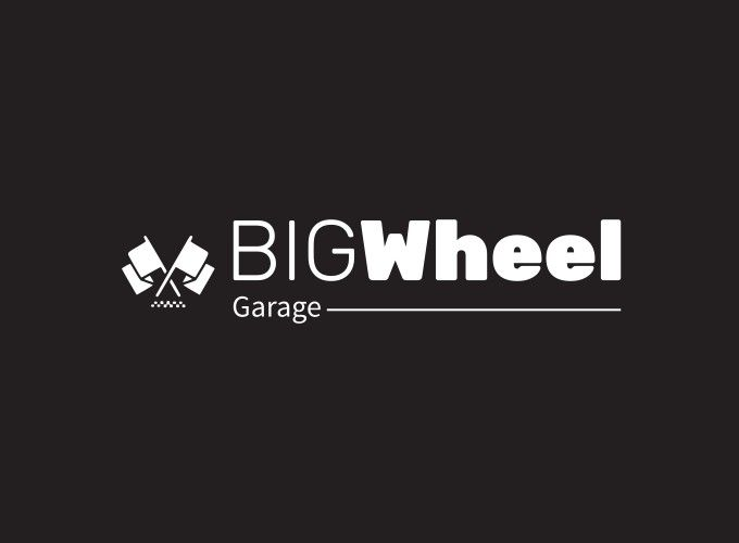 BIG Wheel logo design