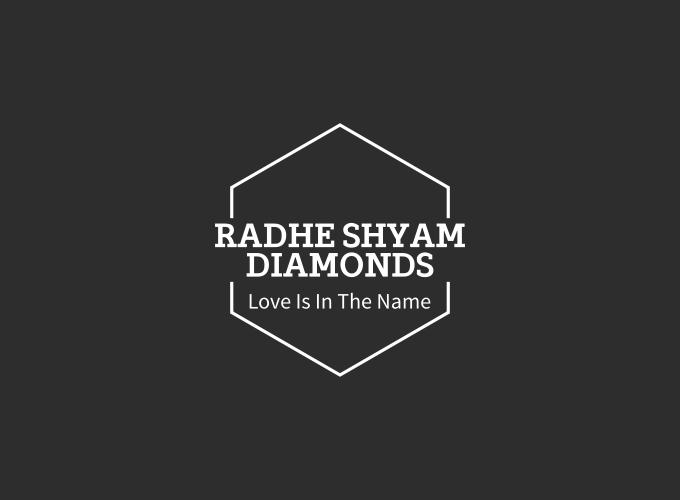 Radhe Shyam Diamonds logo design
