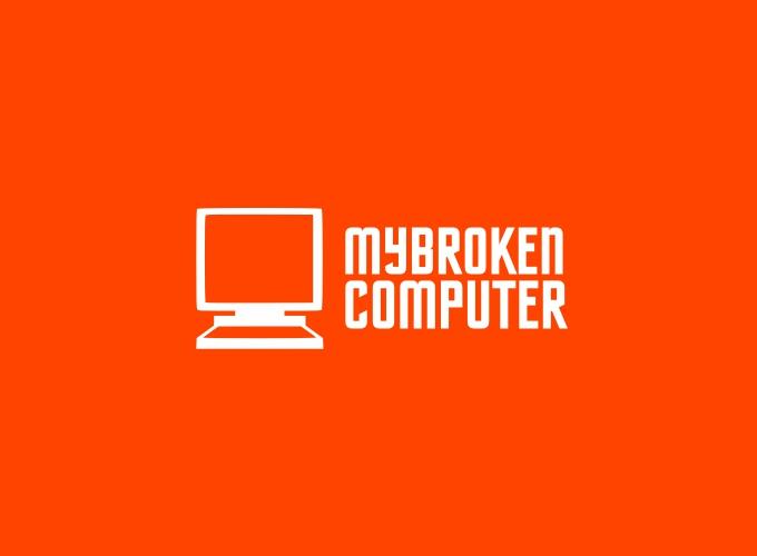 MyBroken Computer logo design