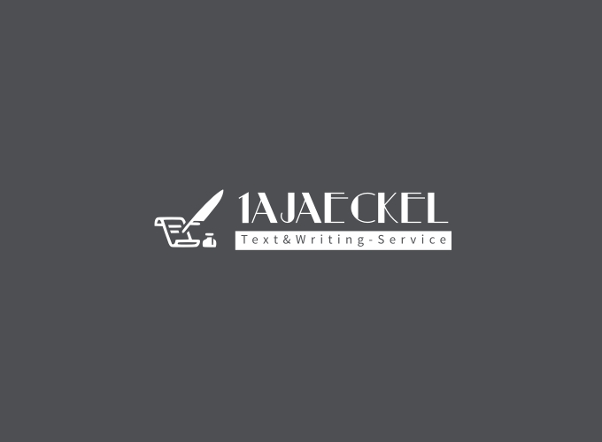 1AJaeckel logo design