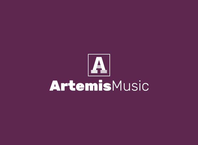 Artemis Music logo design
