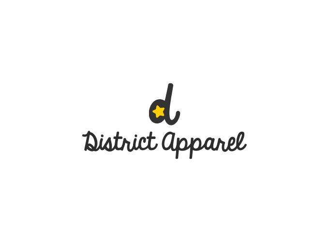 District Apparel logo design