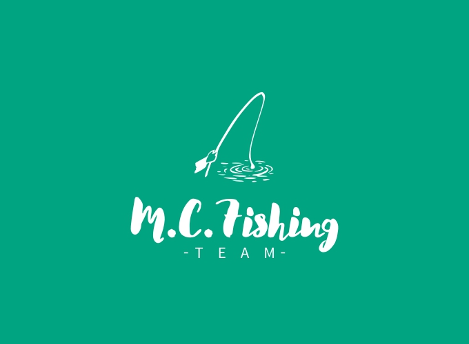 M.C.Fishing logo design