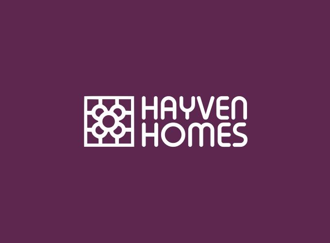 Hayven Homes logo design