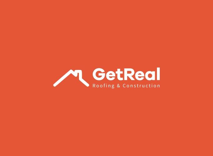 GetReal logo design