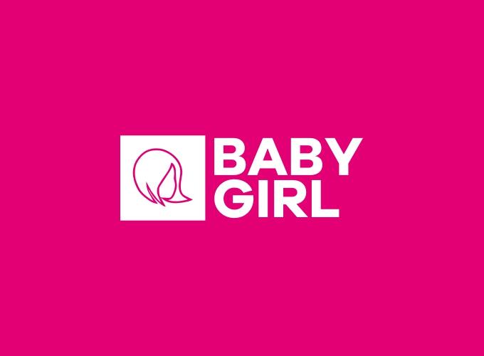 baby girl logo design