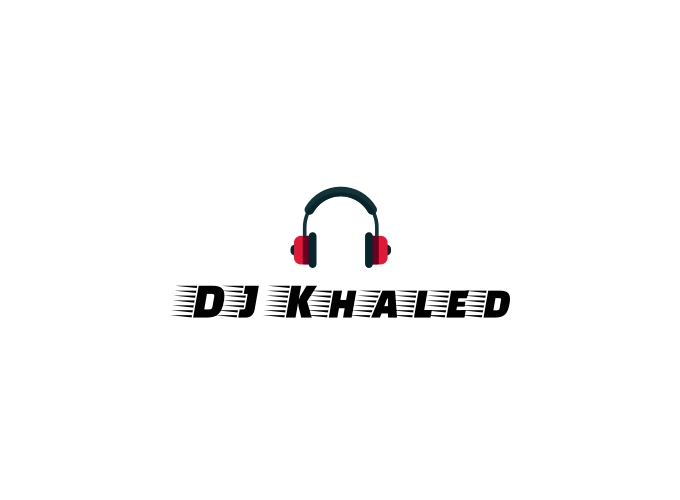 DJ Khaled logo design