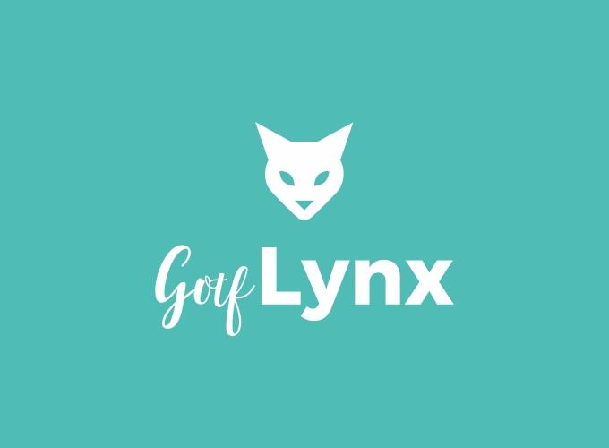 Gotf Lynx logo design