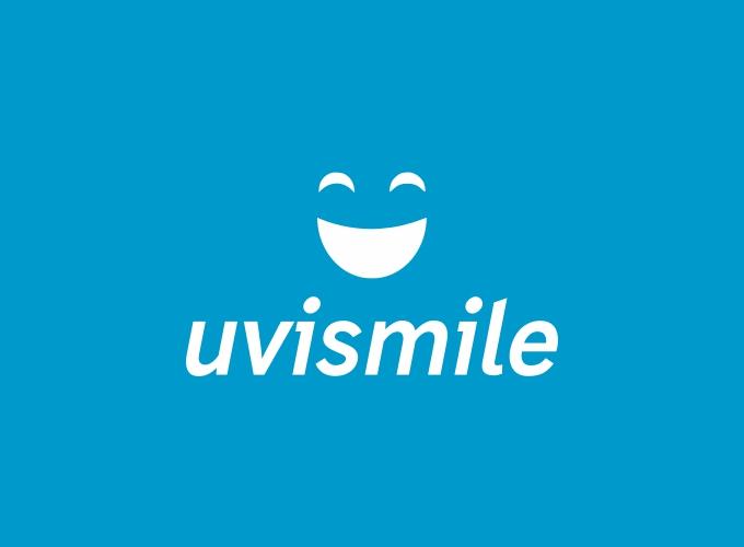 uvismile logo design